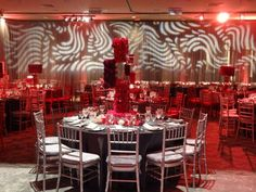 Red And Pewter Bar Mitzvah Event Management Special Events Planning