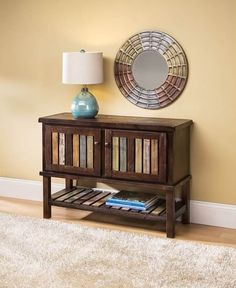 Adds punch to rustic or contemporary room decor.