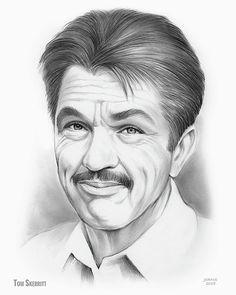 Drawing - Tom Skerritt by Greg Joens , Graphite Art, Graphite Drawings, Pencil Drawings, Pencil Art, Art Drawings, Tom Skerritt, Celebrity Drawings, Up In Smoke, Famous Celebrities