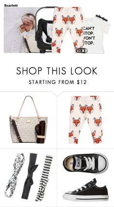 """""""07.11.16"""" by littlekidsfashion ❤ liked on Polyvore featuring MICHAEL Michael Kors and Converse"""