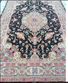 High Quality Persian Tabriz for sale at Toossi Rug Gallery Contact for more information. Located in Washington DC, Maryland, Virginia.