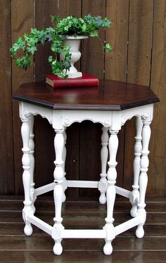 table in pure white annie sloan chalk paint