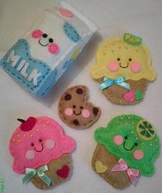 Kawaii #felt food