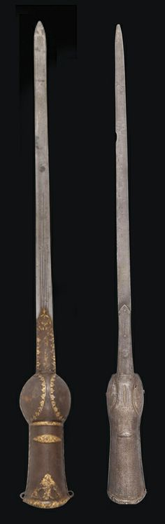 TWO ELEPHANT GAUNTLET SWORDS (PATAS) INDIA, 18TH CENTURY   Christie's