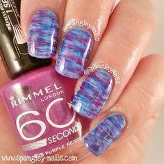 Spangley Nails | UK Nail Art Blog: 1 Manicure; Worn 3 Ways