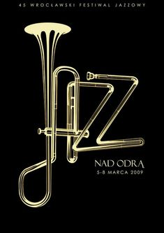 In this selection, we are presenting Artistic Jazz Poster Designs to inspire you. it will be your reference in making the theme of an event, as well as inspiration for you to create a poster / flyer promoting jazz events. Jazz Poster, Word Poster, Inspiration Typographie, Typography Inspiration, Jazz Festival, Festival Posters, Design Graphique, Art Graphique, Typography Prints