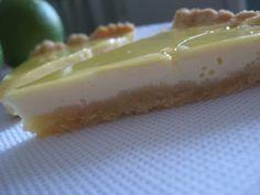 Лимонно Мятный пирог