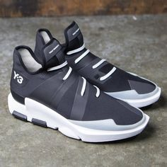 best website a30be 66f3c Adidas Y-3 Men Noci Low Y3 Sneakers, Casual Sneakers, Adidas Running Shoes