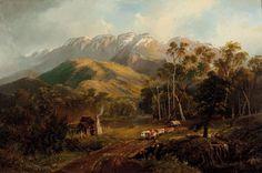 Nicholas Chevalier (1828 – 1902) – Pintor Australiano_7