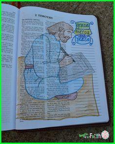 2 Timothy 1 Doodle my Faith 2 Timothy #illustratedfaith #bibleartjournal