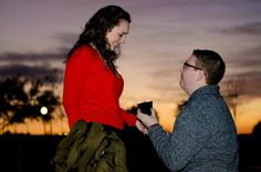 He re-enacted a proposal from The Office!