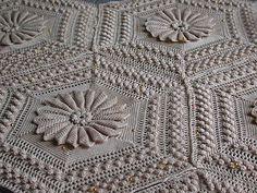 Marguerite - free blanket pattern