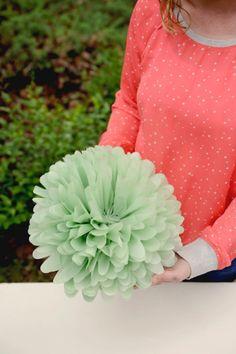 DIY & Feest Styling   Bloemen van tissue papier maken Stap 5!! Tadaaaaaa