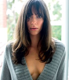 Rebecca Hall , don't have to say anymore. Rebecca Hall, Vicky Cristina Barcelona, Christopher Nolan, Pretty Brunette, Fishing Girls, British Actresses, Celebrity Hairstyles, Gal Gadot, Beautiful Actresses