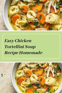 Find easy-to-make comfort food recipes like Healty recipes, dinner recipes and more recipes to make your fantastic food today. Egg Recipes, Soup Recipes, Salad Recipes, Dinner Recipes, Chicken Tortellini Soup, Healthy Drinks, Food To Make, Curry, Easy Meals