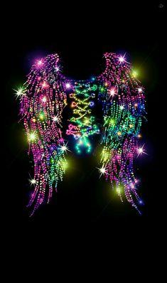 Rainbow corset galaxy wallpaper I created for CocoPPa