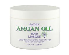Argan Oil Hair Masque is formulated for severely dry and damaged hair. If your hair is brittle and weak, this high-protein Argan oil treatment can strengthen and revitalize it by adding an intense dosage of powerful, rejuvenating nutrients. It is a great deep treatment for hair that needs extra conditioning.