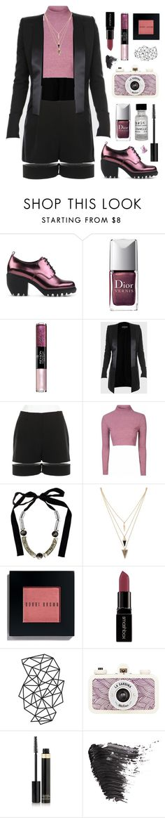 """""""'Mauve'-aise"""" by infraviolette ❤ liked on Polyvore featuring мода, Opening Ceremony, Christian Dior, Revlon, Balmain, Alexander Wang, Marni, Forever 21, Bobbi Brown Cosmetics и Smashbox"""