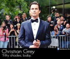 Matt Bomer IS Christian Grey ♥