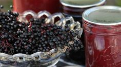 Elderberry can be made into cordial, jelly - and delicious wine.