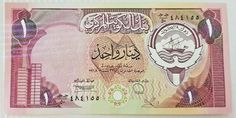 Central Bank Of Kuwait Banknote 1 Dinar Paper Old Rare Money Central Bank, Banknote, Old Things, Stickers, Money, Paper, Ebay, Silver, Decals