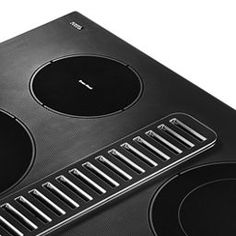 "Black 30"" Electric Downdraft Cooktop with 4 Elements KCED600GBL   KitchenAid Major Kitchen Appliances, 4 Element, Electric Cooktop, Ventilation System, Us Map, Kitchenaid, Black, Black People, Map Of Usa"