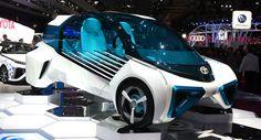 Toyota FCV Plus Concept Powers Its Way Into Paris