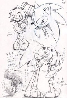 Is Sonic being annoying again Amy?