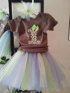 first birthday outfit for the baby! :)