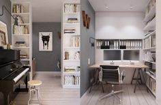 Scandinavian Mid Century Apartment by INT2 Architecture