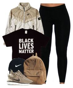 """Black Lives Matter."" by cheerstostyle ❤ liked on Polyvore featuring STONE ISLAND, Nike Golf and NIKE"