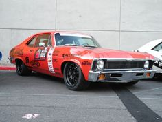 "Billy Utley's '72 Nova (known as ""Nancy""), built by B&B Classics Inc.,"