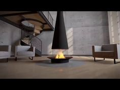 Fire was meant to be viewed in the round. This modern wood fireplace finally puts fire on its proper stage. Find a local dealer today! Wood Fireplace, Modern Fireplace, Focus Fireplaces, Heat Resistant Glass, Kitchen Must Haves, Central, Better Homes, Glass Panels, Indoor