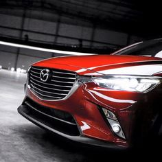 It's a mean looking machine from certain angles. The all-new Mazda CX-3.