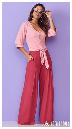 LOOKBOOK 2 – Cora Canela Classy Outfits, Casual Outfits, Fashion Outfits, Womens Fashion, Clothes For Women In 30's, Mix Match Outfits, Square Pants, Looks Plus Size, Basic Tops