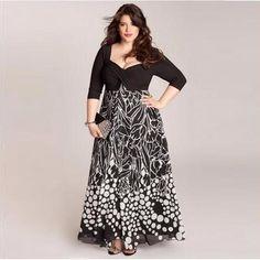 New Ladies Plus Size Maxi Dress Womens Floral Print Tie Back Long Party