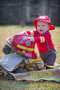 Future firefighter in the making | Shared by LION