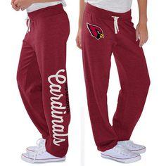 G-III 4Her by Carl Banks Arizona Cardinals Women's Cardinal Scrimmage Fleece Pants