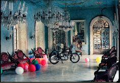 my fav. photographer ~ Mr. Tim Walker ~ this one's is shot in Casa De Braganza Goa, India. 1999