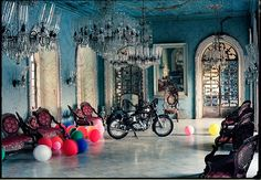 my fav. photographer ~ Mr. Tim Walker ~  this one's is shot in Casa De Braganza Goa, India. 1999