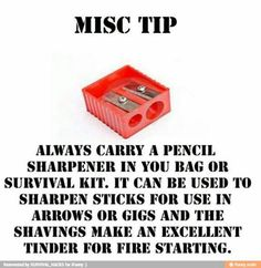 Might be a good idea to add one to my hurricane survival kit! Might be a good idea to add one to my hurricane survival kit!,Be Prepared Might be a good idea to add one to my hurricane survival kit! Survival Life Hacks, Survival Prepping, Survival Skills, Survival Supplies, Survival Quotes, Survival Stuff, Survival Bow, Survival Weapons, Camping Survival