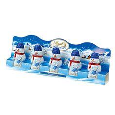 クリスマス限定のかわいいミルクチョコレート。ニット帽とマフラーを着用した、スノーマンのかたちをしたミルクチョコレート。プチギフトにおすすめです。 Mini Snowman 5×10g 【内容量】50g 【パッケージサイズ】約210×70×20mm 【原産国】ドイツ 【原材料】砂糖、ココアバター、全粉乳、カカオマス、乳糖、脱脂粉乳、麦芽エキス、植物レシチン(大豆由来)、香料 【アレルギー】ヘーゼルナッツ、アーモンドを使用した設備で製造しています。 ※賞味期限:2017年5月31日