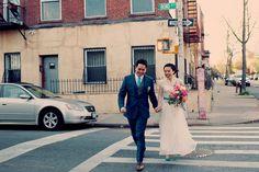 Venue: www.thegreenbuildingnyc.com | Handcrafted Brooklyn Wedding - Ruffled Blog