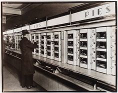 Berenice Abbott, Automat, New York This was such a treat :)