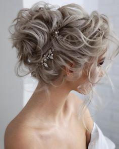 Curly Updos For Medium Hair, Curly Hair Updo, Up Dos For Medium Hair, Medium Hair Styles, Curly Hair Styles, Hairdo Wedding, Long Hair Wedding Styles, Wedding Hair And Makeup, Bridal Hair