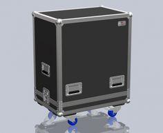 Flightcase, Marshall MB 4410, rodas | Santosom