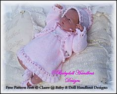FREE Frilled Dress Set 10-16 inch doll
