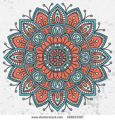 Find Mandala Round Ornament Pattern stock images in HD and millions of other royalty-free stock photos, illustrations and vectors in the Shutterstock collection. Mandala Art, Croquis Mandala, Mandala Doodle, Mandala Drawing, Mandala Pattern, Mandala Meditation, Indian Mandala, Flower Mandala, Ornament Pattern