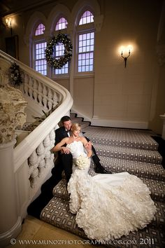 Love this shot on the stairs at the Boca Resort! Boca by Design. Munoz Photography.