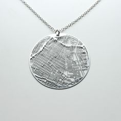 Image of Urban Gridded Earrings/Necklace - Los Angeles by Aminimal Shop